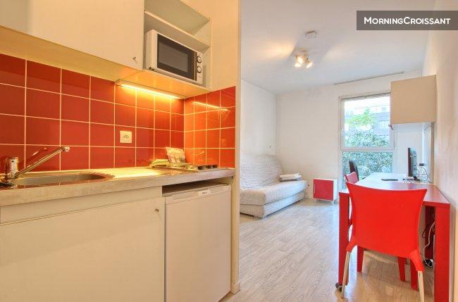 Furnished Studio For Rent In Saint Ouen Cheap Studio Near Paris 2