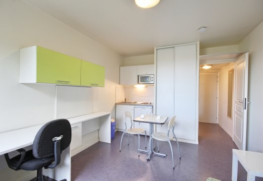 Valenciennes, studio comfort for 2