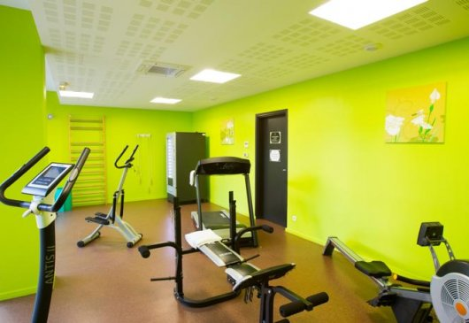 Studio in residence fitness room