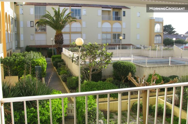Nice T2 to rent Narbonne Beach