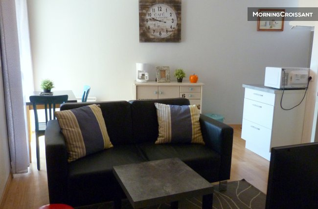 Apartment. Furnished 1BR Toulouse