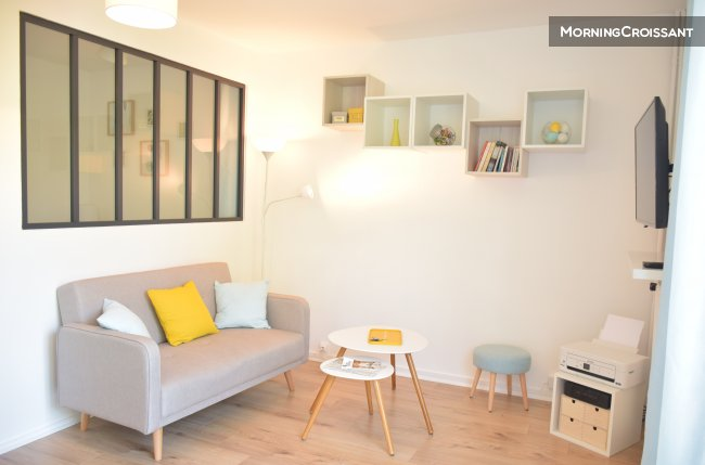Furnished flat 30 sqm