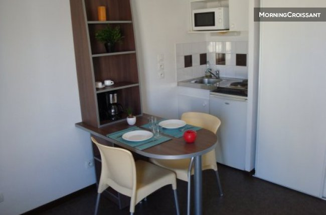 Studio furnished & equipped in Lyon