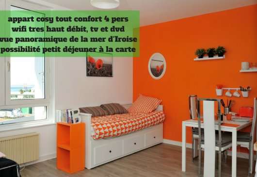 Appart brest city poullic al lor 5