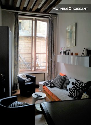 Charming studio in Saint-Germain