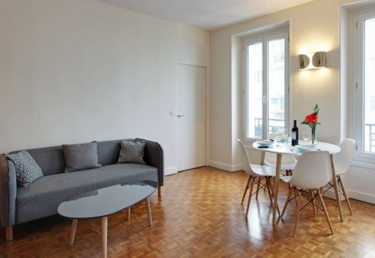 4 people apartment in Boulogne