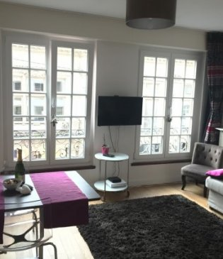 Furnished studio Center Strasbourg