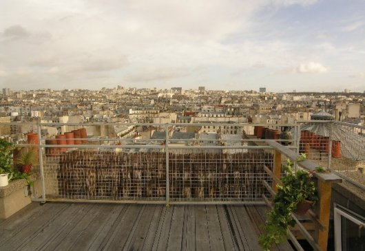 Rooftop Apt Trendy Marais district