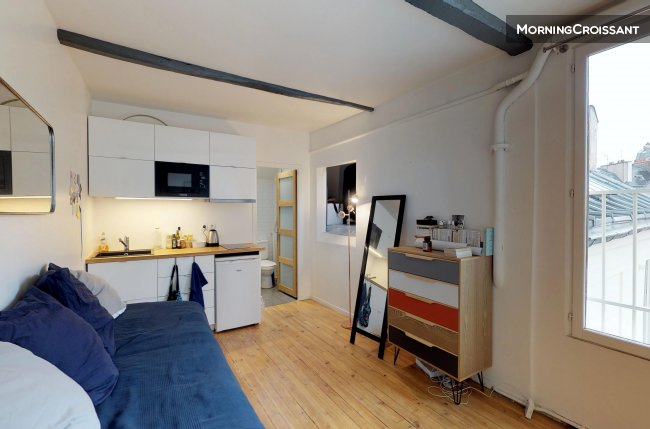 Charming studio in South Pigalle