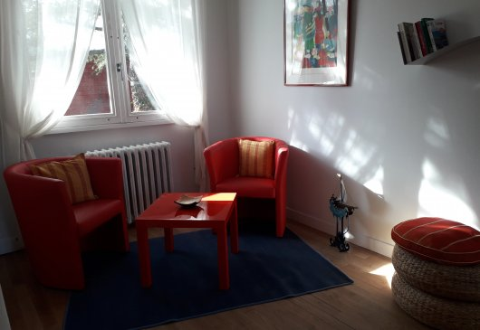 Room 20 sqm, furnished with garden