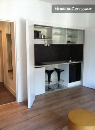 Furnished studio Avenue Marchandeau