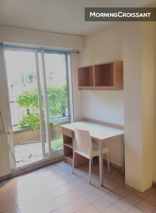 Great 1BR Center Aix with parking