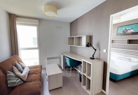 2-room flat for 4 people