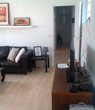 Large furnished 73 sqm in residence
