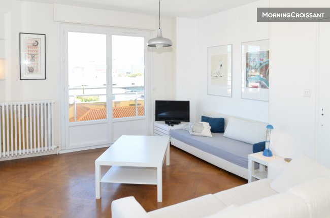 Furnished 1 br and balcony Lyon 3