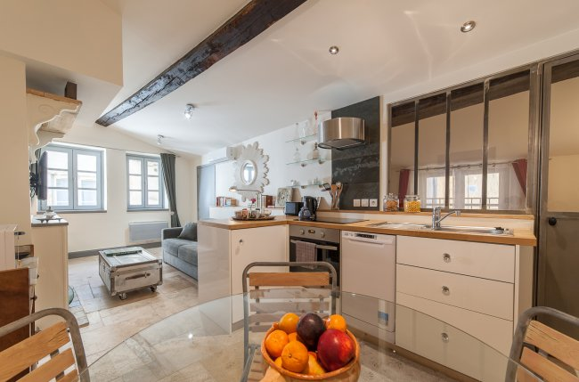 Beautiful 1BR heart of Old Lyon
