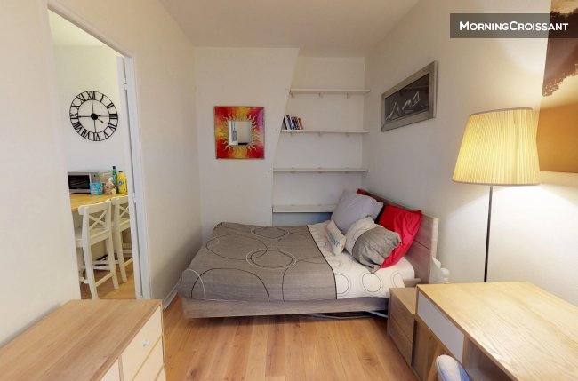 Montparnasse, quiet apartment and