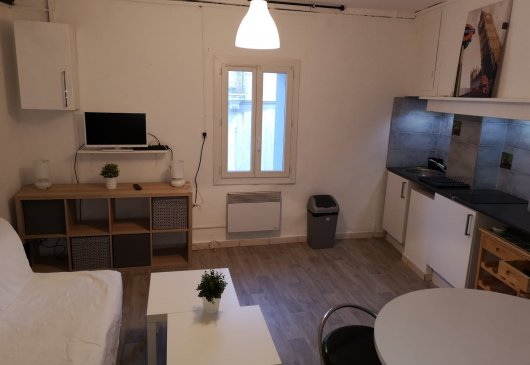 1br crossing, heart of Montpellier