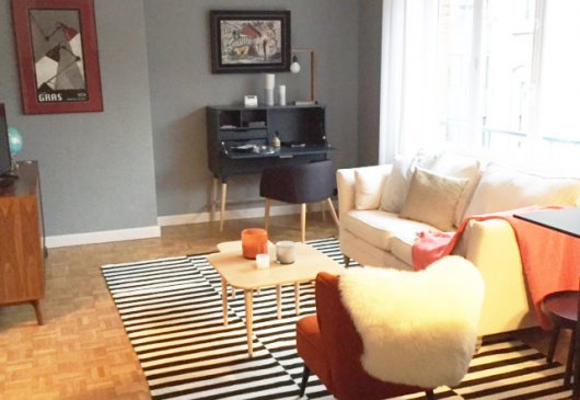 2 br apartment in heart of Lille