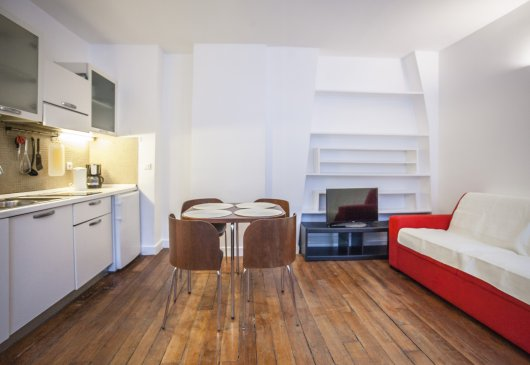 Faubourg du Temple lovely 1 bedroom