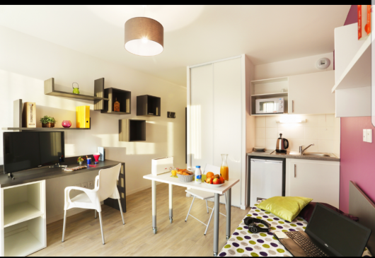 New, modern apartment hotel