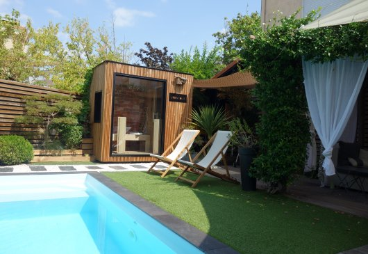 Zen Garden House Swimming Pool Saun