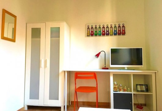 Nice furnished and equipped studio,