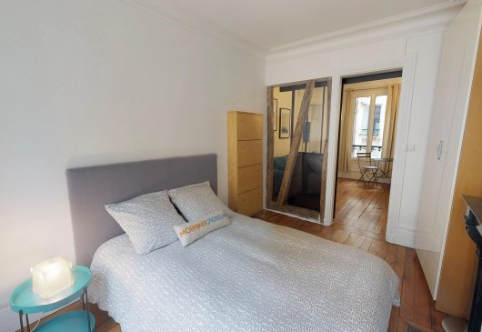 Apartment of 34sqm Paris 17th