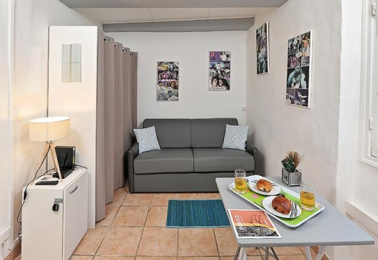 Studio on rue massena for students