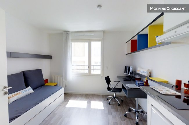 Fully equiped studio of 19sqm