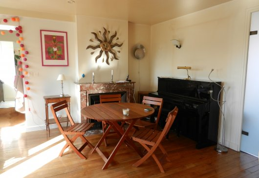 Furnished duplex 93sq quiet & charm