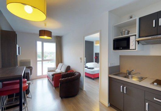 1BR furnished low price - Students