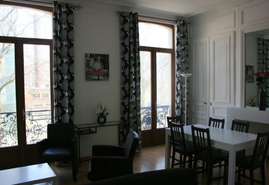 1 br flat Lille with parking