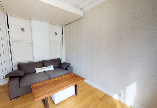 2 Rooms in furnished Paris 17