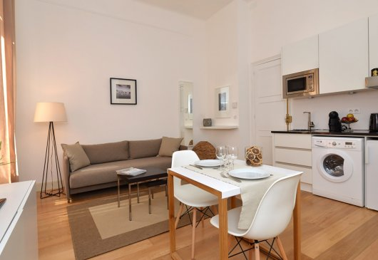Furnished 1 br flat- standing