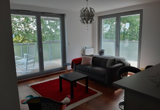 1 br flat Nantes centre / parking