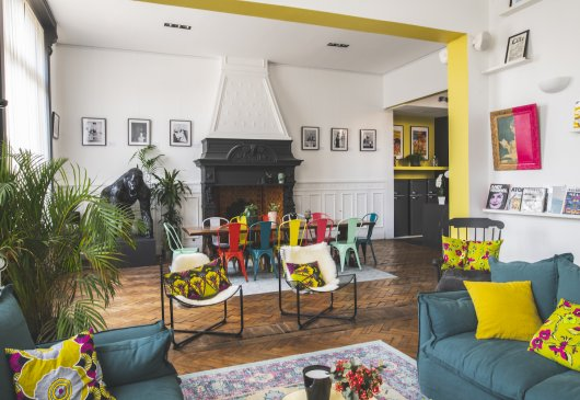 Room 1 in ''Le Consulat'' coliving
