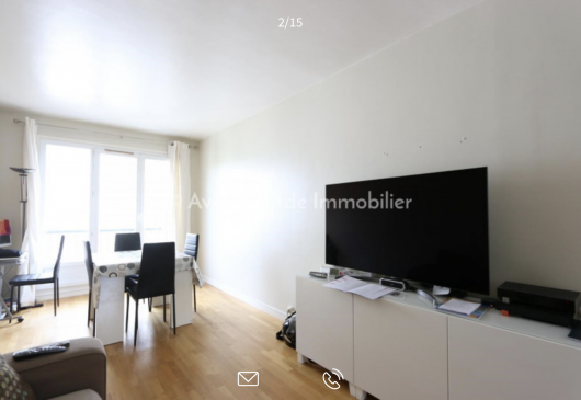 2 bedrooms apartment Levallois