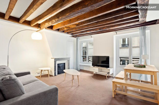 Charming 1 br flat - heart of Paris