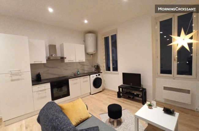 2 br flat furnished