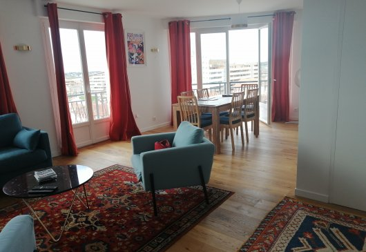 Lovely flat in Bayonne City Center