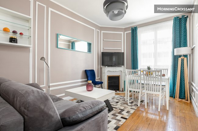 Stylish 2BR by Eiffel Tower