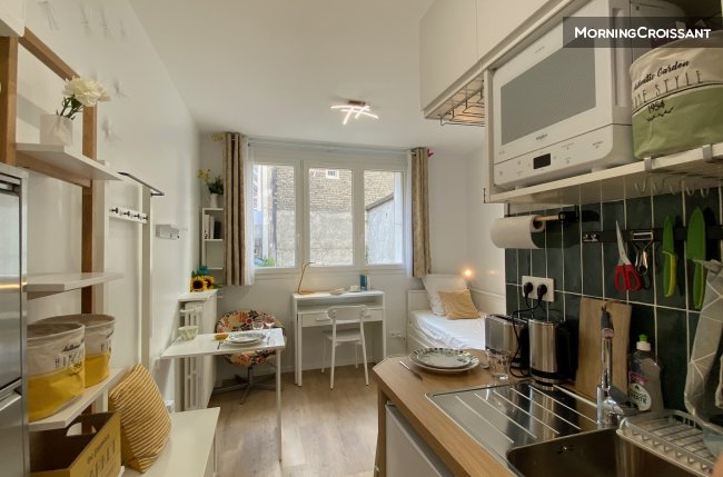 Furnished studio apartment Paris 15