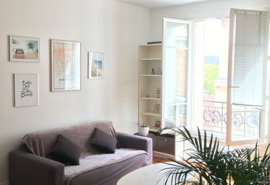 Charming 2 room flat in Auteuil