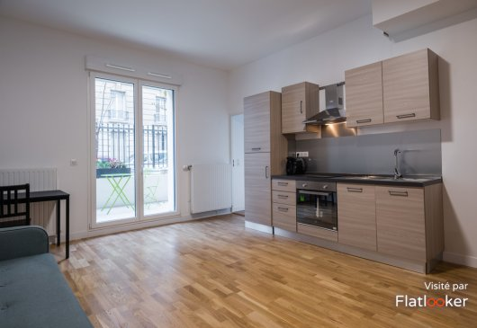 2 rooms refurbished - Levallois