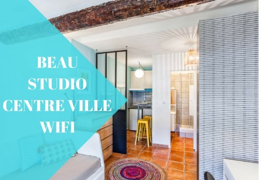 Charming studio in the city centre