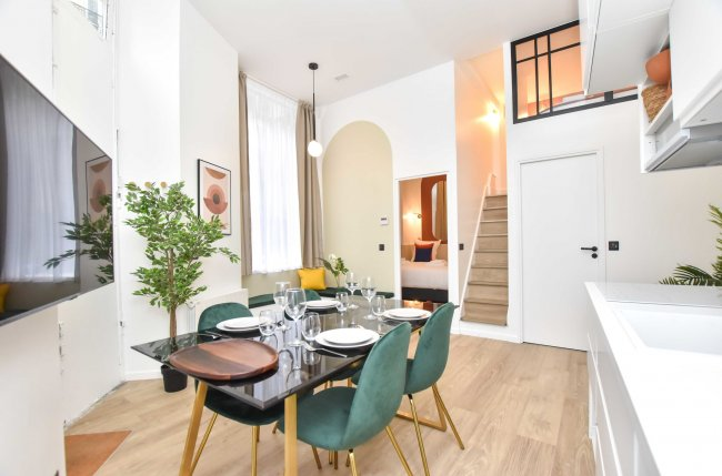 Charming apartment 1BR/4P -Pigalle