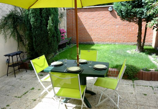 Rental apartment + garden Lille